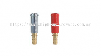 Plastic (Chrome / Red) Jet and Spray Nozzle