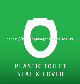Plastic Toilet Seat & Cover