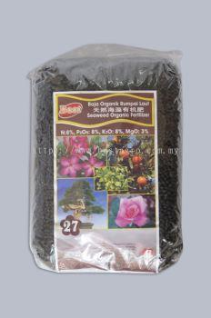 Seaweed Organic Fertilizer 27 ��Ȼ�����л��� (400g/3kg)
