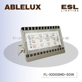 ABLELUX 50W LED FLOODLIGHT / SPOTLIGHT 4500 LUMEN POWER FACTOR 0.95 AC180-260V IP65 OUTDOOR LIGHT