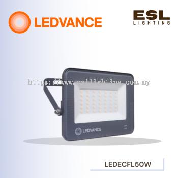 LEDVANCE LED ECO FLOODLIGHT/SPOTLIGHT 50W POWER FACTOR 0.9 3000K 4000K 6500K OUTDOOR LIGHT