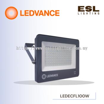 LEDVANCE LED ECO FLOODLIGHT/SPOTLIGHT 100W POWER FACTOR 0.9 3000K 4000K 6500K OUTDOOR LIGHT