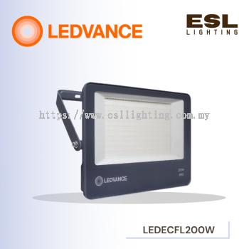 LEDVANCE LED ECO FLOODLIGHT/SPOTLIGHT 200W POWER FACTOR 0.9 3000K 4000K 6500K OUTDOOR LIGHT