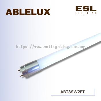ABLELUX T8 LED TUBE 600MM 2FT 6500K POWER FACTOR 0.9 990 LUMEN AC85 - 265V