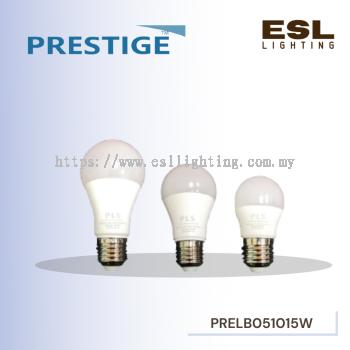 PRESTIGE 5W 10W 15W ESSENTIAL LED BULB 20000HOURS LIFESPAN POWER FACTOR 0.65