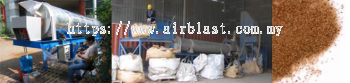 Garnet Recovery Dryer Separation Equipment