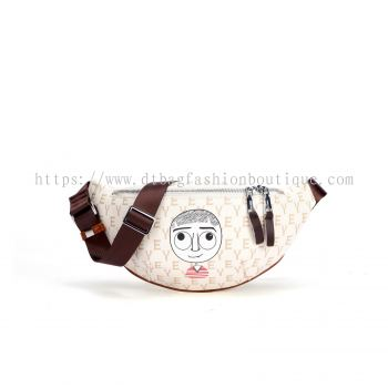EYE THEME FASHION CHEST BAG