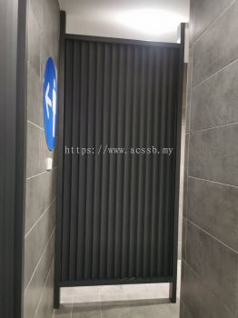 Powder Coated Aluminum Louvers Partition