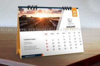 Desktop Calendar Display