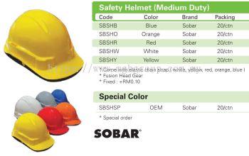 Sobar Helmet - Medium Duty
