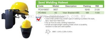 Semi Welding Helmet  9057 + A2
