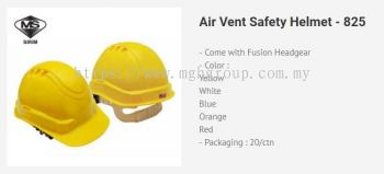 BK 825 Air Vent Helmet
