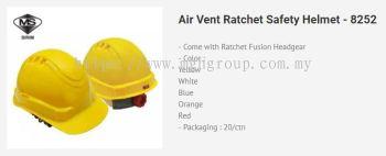 BK 8252 Air Vent Ratchet Helmet