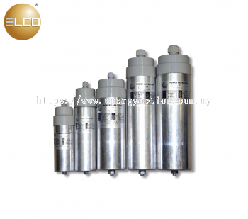 ELCO Cylindrical-Type Power Capacitor 212 Series