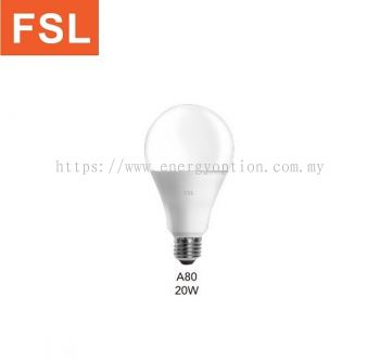 FSL A80 20W LED Bulb E27