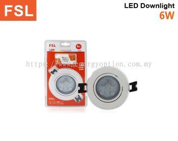 FSL LED 6W Ceiling Downlight