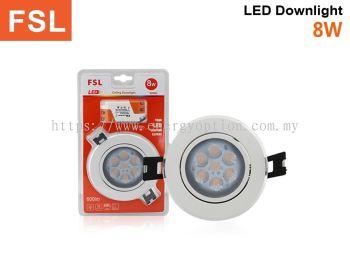 FSL LED 8W Ceiling Downlight