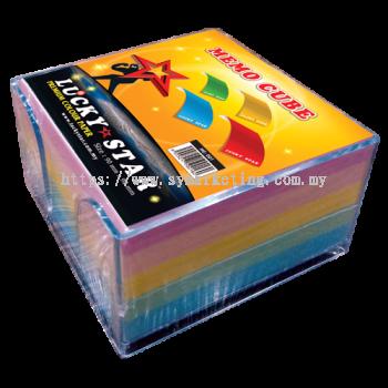 Lucky Star Memo Cube - 450's (Mix Colour)