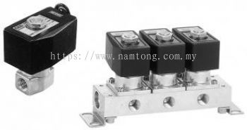 P4 * Series for Rechargeable Battery Manufacturing Process 2, 3-port Direct Acting Solenoid Valve for Dry Air (General Purpose Valve) - AB-ZP4�� �� GAB-ZP4�� �� AG-ZP4�� �� GAG-ZP4��