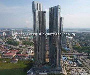"""The Astaka"" Commercial Building Project @ Jalan Tebrau, Johor Bahru, Johor"
