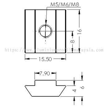 CP-SLN5-8/3030 | CP-SLN6-8/3030 | CP-SLN8-8/3030
