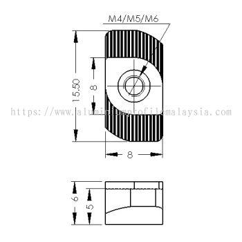 CP-RN4-8/3030 | CP-RN5-8/3030 | CP-RN6-8/3030