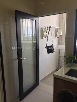 kitchen aluminium doors