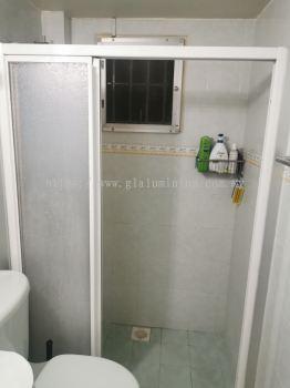 shower aluminium + pvc