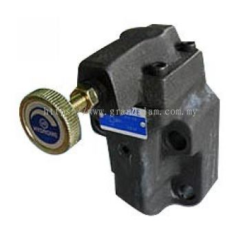 Balance Piston Type Pilot Operated Relief Valve