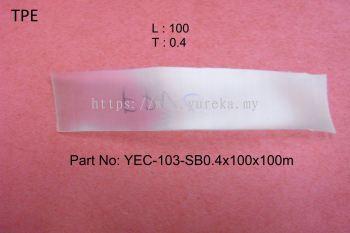 YEC-103-SB0.4x100x100m(Transparent) TPE