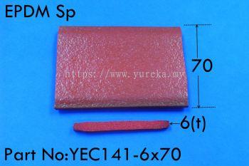 YEC-141-6x70 Sponge EPDM