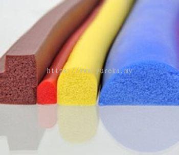 Silicone Rubber Sponge D Profile / Section