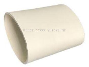 White Neoprene Rubber Sleeve