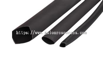 Soft adhesive-lined heat shrinkable tube (2:1)