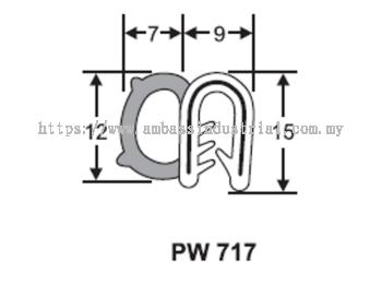 15 X 9 Pinchweld Side Bulb