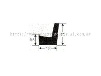 L Shape 9.5x16x20mm