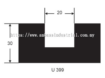 U 399 Settling Block Channel