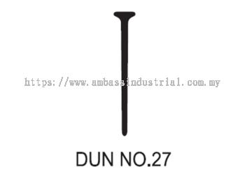 Dun No. 27 Dunlop With Strip