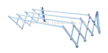 SUS304 Wall Retractable Cloth Rack (H/D)