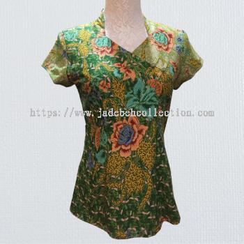 BTK(T)003 Batik Qipao Top