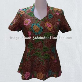 BTK(T)004 Batik Qipao Top
