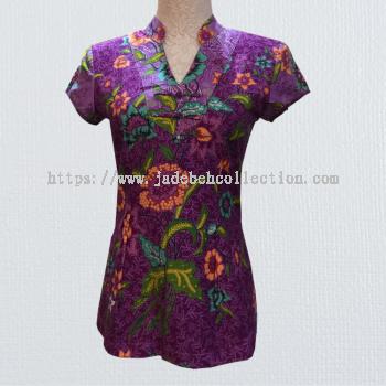 BTK(T)010 Batik Qipao Top