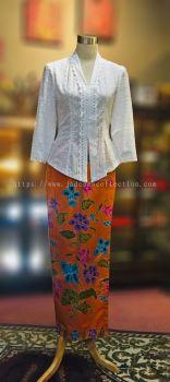 KBY011 Cotton Lace Kebaya