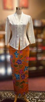 KBY009 Cotton Lace Kebaya