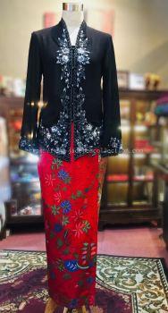 KBY029 Nyonya Kebaya (Floral Motif) - Size 36