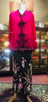 KBY022 Nyonya Kebaya (Floral Motif) - Size 48