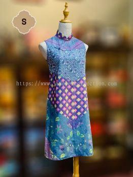 Sold Out - BTK(D)042 Batik Flare Qipao