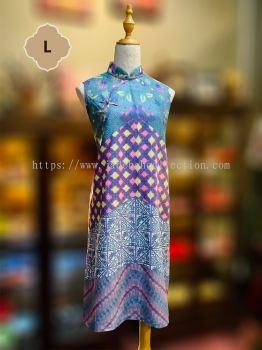 Sold Out - BTK(D)044 Batik Flare Qipao