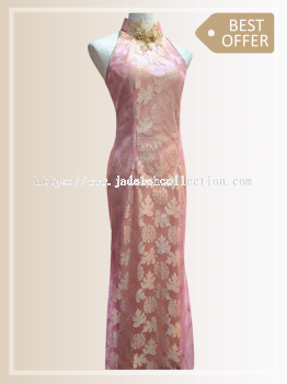 Sold Out - QP024 Cut-in Maxi Qipao