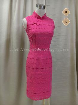 QP080 ����˿�������� | Cotton Lace Slim Fit Qipao